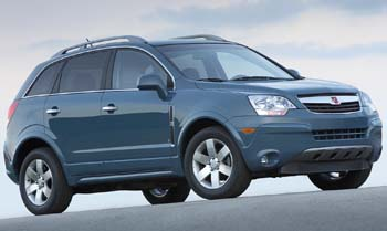 Saturn Vue Test Drive